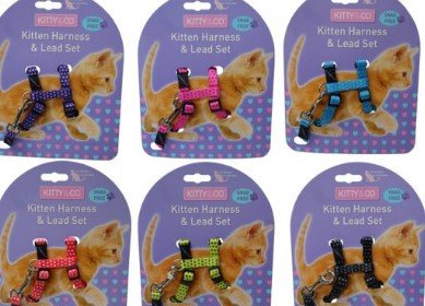 cat harnesses and collars pet shop sonning common